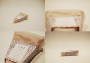 creation packaging gâteau basque isila