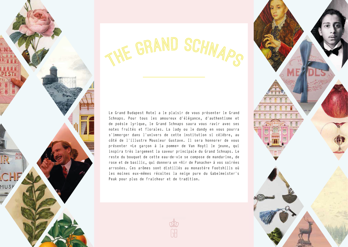 grand budapest hotel packaging creation